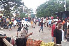 Bentrokan Kembali Pecah di Manggarai, Polisi Tembakkan Gas Air Mata