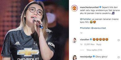 [POPULER HYPE] Heboh Via Vallen di Instagram MU   Tangis Haru Pernikahan Vicky dan Kalina