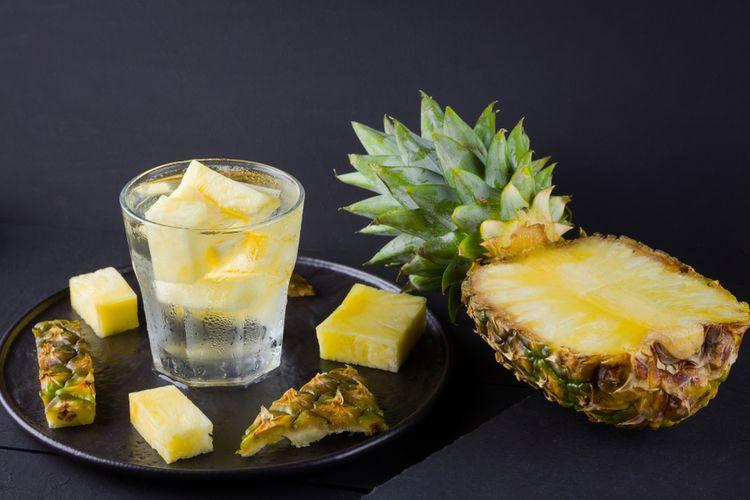 infused water nanas
