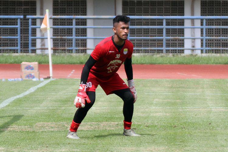 Kiper muda Persib Bandung, Muhammad Aqil savik.