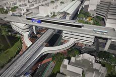 Begini Desain Skybridge Penghubung Stasiun MRT ASEAN-Halte Transjakarta CSW
