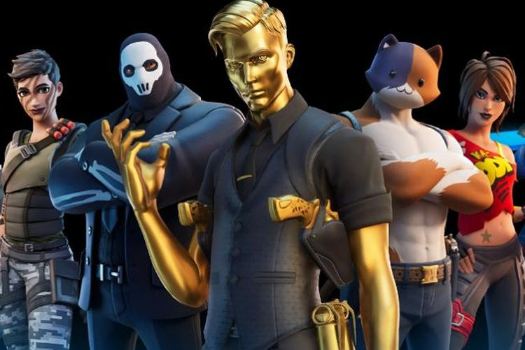 Ilustrasi karakter di Fortnite Chapter 2 Season 2