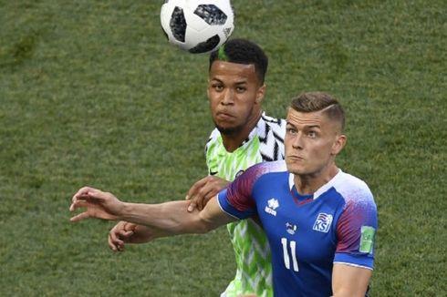 Babak Pertama Nigeria Vs Islandia, Elang Super Tak Catatkan Peluang