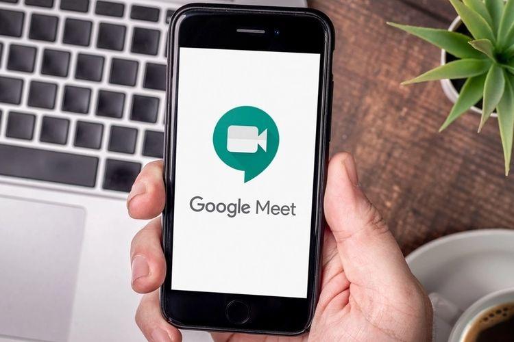 Ilustrasi Google Meet