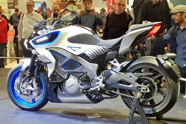 Kymco perkenalkan RevoNEX, motor naked bertenaga listrik, di EICMA 2019
