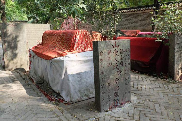 Area makam murid-murid Abu Waqqas