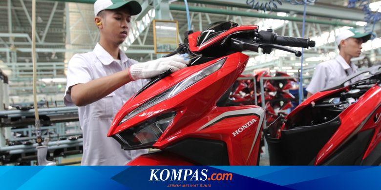 Ada Risiko Corona, Produksi Motor Honda Masih Berjalan Normal