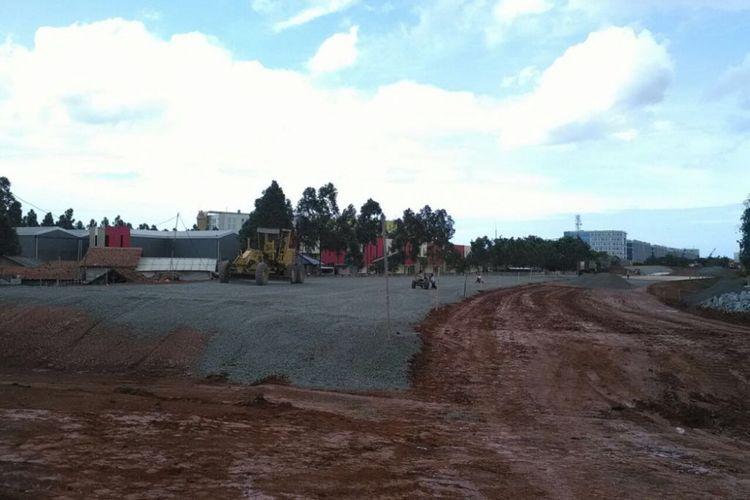 Pekerjaan konstruksi Tol Kunciran-Cengkareng