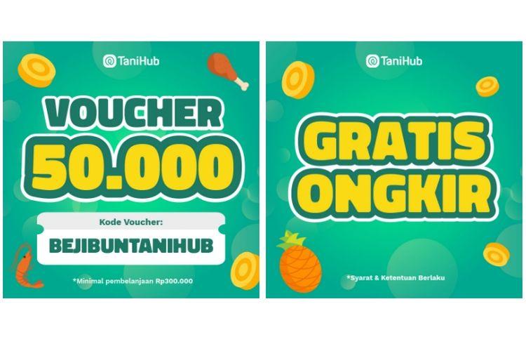Program Bejibun juga menghadirkan voucer belanja senilai Rp 50.000 dan gratis ongkos kirim.