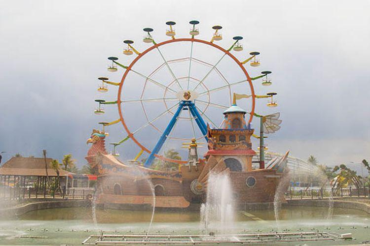 Salah satu wahana di Saloka Theme Park, taman rekreasi terbesar di Jawa Tengah