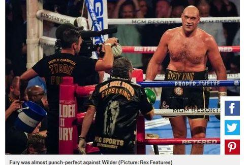 Duel Tyson Fury vs Anthony Joshua Bisa Digelar Lebih Cepat, jika...
