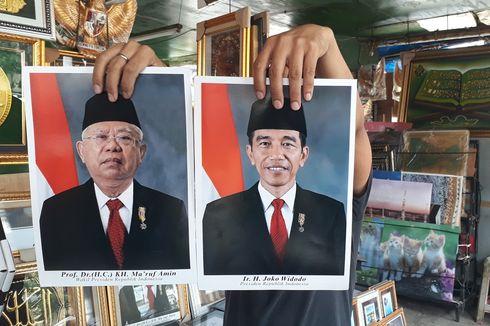 Foto Jokowi-Ma'ruf yang Beredar di Pasaran Berbeda dengan Versi Resmi dari Setneg