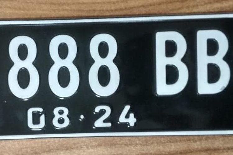 Jenis Huruf dan Angka Pada Plat Nomor Cantik