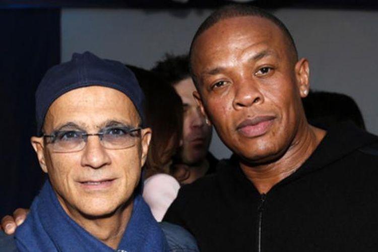Dua pendiri Beats Electronics, Jimmy Iovine dan Dr Dre