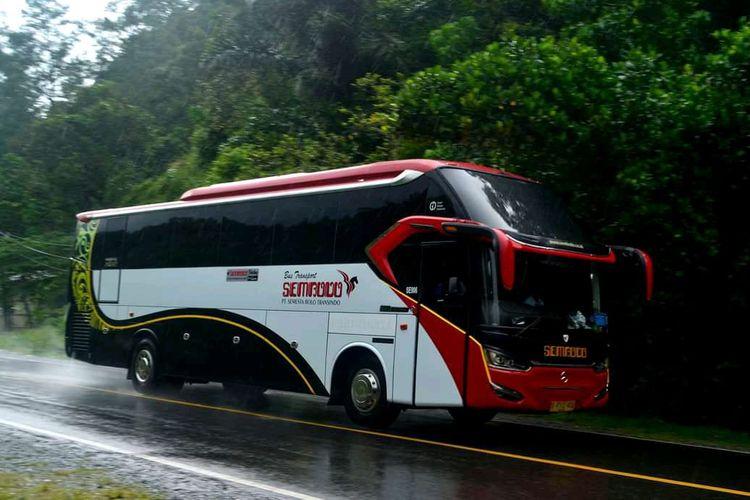 Armada bus milik PO Sembodo