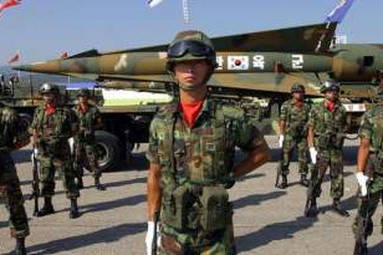 Inilah rudal balistik Hyunmoo yang akan diandalkan Korea Selatan untuk memusnahkan Pyongyang jika Korea Utara mencanangkan perang.