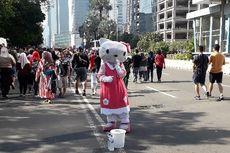 Para Pengais Rezeki Berkostum di Car Free Day Jakarta
