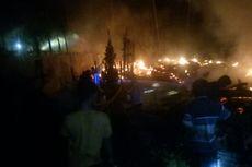 10 Rumah dan 3 Gedung Sarang Walet Terbakar di Jambi, Korban Selamat dan Berhasil Dievakuasi