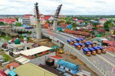 Belum Diresmikan, Jokowi Minta Jembatan Sei Alalak di Banjarmasin Dibuka untuk Umum