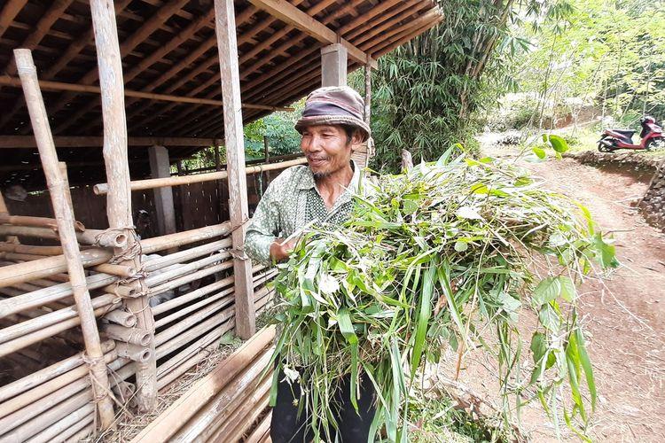 Yatnorejo Salah satu Warga Kampung Pitu di Nglanggeran, Patuk