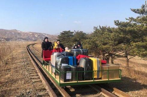 Perjalanan 34 Jam dengan Troli Ditempuh Diplomat Rusia Demi Pulang dari Korea Utara