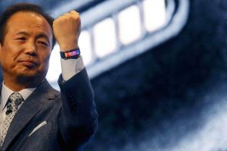 J.K. Shin, Co-CEO dan Kepala Bisnis Perangkat Mobile Samsung