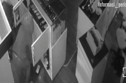 Video Viral Pencuri Beraksi di Toko Ponsel di Cengkareng