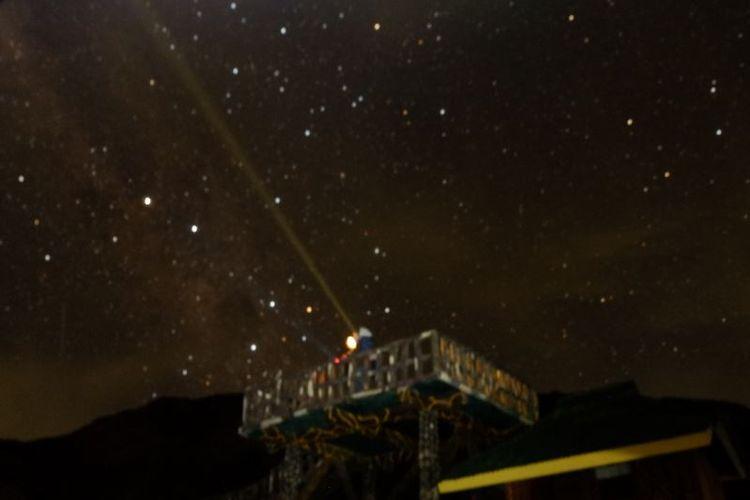 Bintang-bintang di langit Papandayan