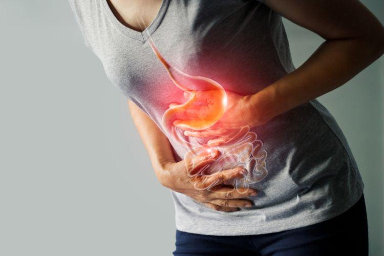 Ilustrasi norovirus menyebabkan sakit pada saluran pencernaan, ditandai dengan diare, mual, muntah dan sakit pada perut.