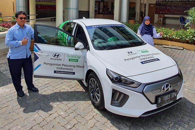 Hyundai Ioniq layani tenaga medis Covid-19
