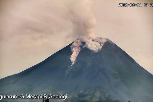 Selasa Sore, Gunung Merapi Keluarkan Awan Panas Guguran, Estimasi Jarak Luncur 1.000 Meter