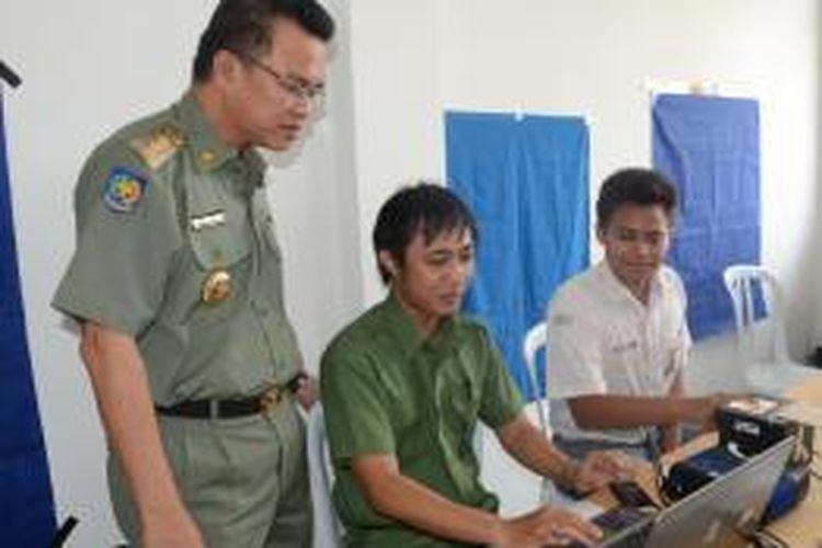 Ribuan Siswa SMA Samarinda Boleh melakukan Perekaman e-KTP