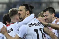 Libas Cagliari, AC Milan Samai Dua Rekor Apik di Liga Italia