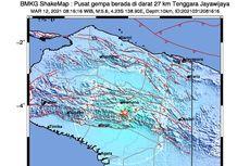 Gempa Hari Ini: M 5,3 Guncang Wamena, Terasa hingga Timika Papua