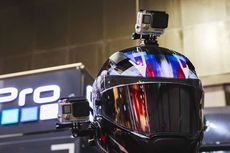 Bersihkan Helm dari Sisa Lem Action Cam Bisa Atasi Bosan saat WFH