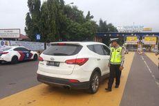 Mobil Pelat Ganjil Dipaksa Putar Balik di Tol Bekasi Timur