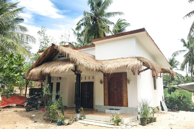 Salah satu unit rumah di KSPN Mandalika, NTB.