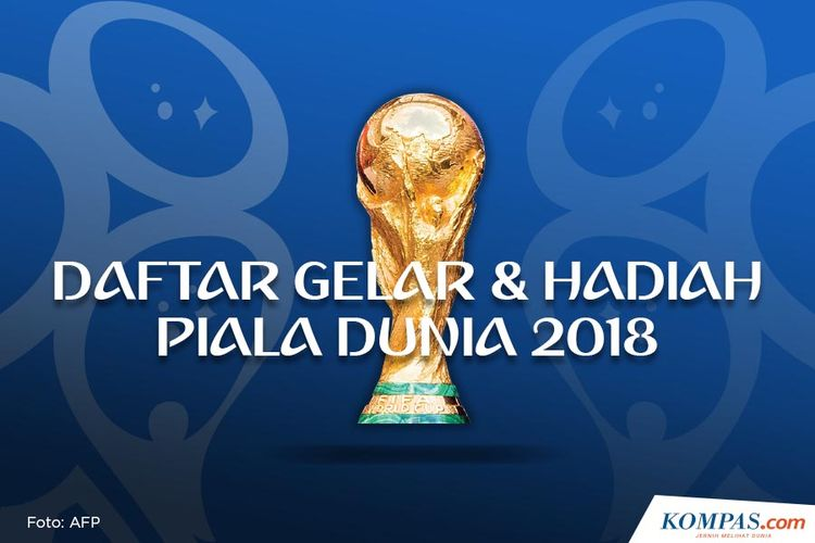 Daftar Gelar Dan Hadiah Piala Dunia 2018