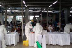 350 Calon Penumpang KRL dan Petugas KAI Jalani Tes Swab di Stasiun Bogor