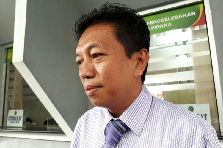 Ketua Tim Pengacara Hary Tanoesoedibjo, Munathsir Mustaman. Rabu (12/7/2017)