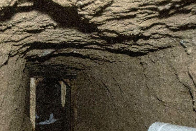Pihak berwenang Peru mengungkap terowongan sepanjang 180 yang dibiayai oleh kartel lama El Chapo