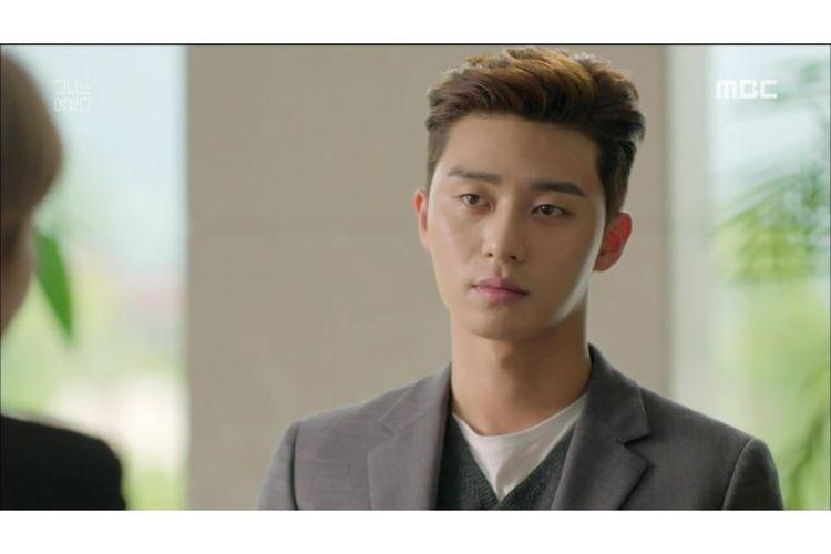 Park Seo Joon berperan sebagai Ji Jung Soon di drama She Was Pretty