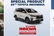 Sebelum Meluncur, Ini Bocoran Kijang Innova Edisi 50 Tahun Toyota