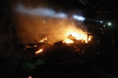 Pasar Tradisional di Banyumas Terbakar