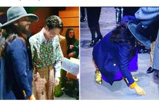 Mengintip Keakraban Jared Leto dan Kai EXO di Acara Gucci