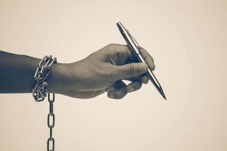 Ilustrasi kebebasan pers