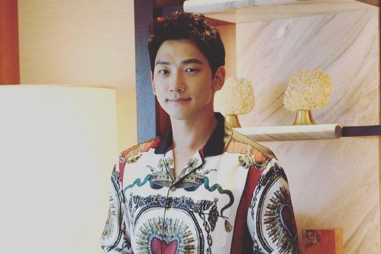 Penyanyi dan bintang drama asal Korea Selatan Rain