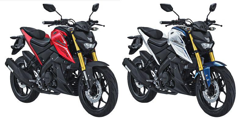 Yamaha Xabre dengan warna dan grafis baru.
