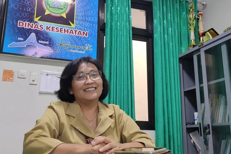 Juru Bicara Gugus Tugas Penanganan Covid-19 Kulon Progo Daerah Istimewa Yogyakarta, Baning Rahayujati.
