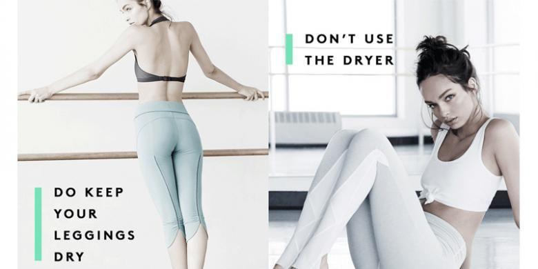 Anda Jangan Sembarang Cuci Celana Legging Ini Caranya
